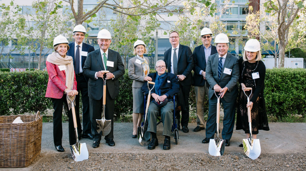 UCSF Donors at Weill Groundbreaking